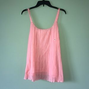 NY&Co Pink Flowing Rose Tank